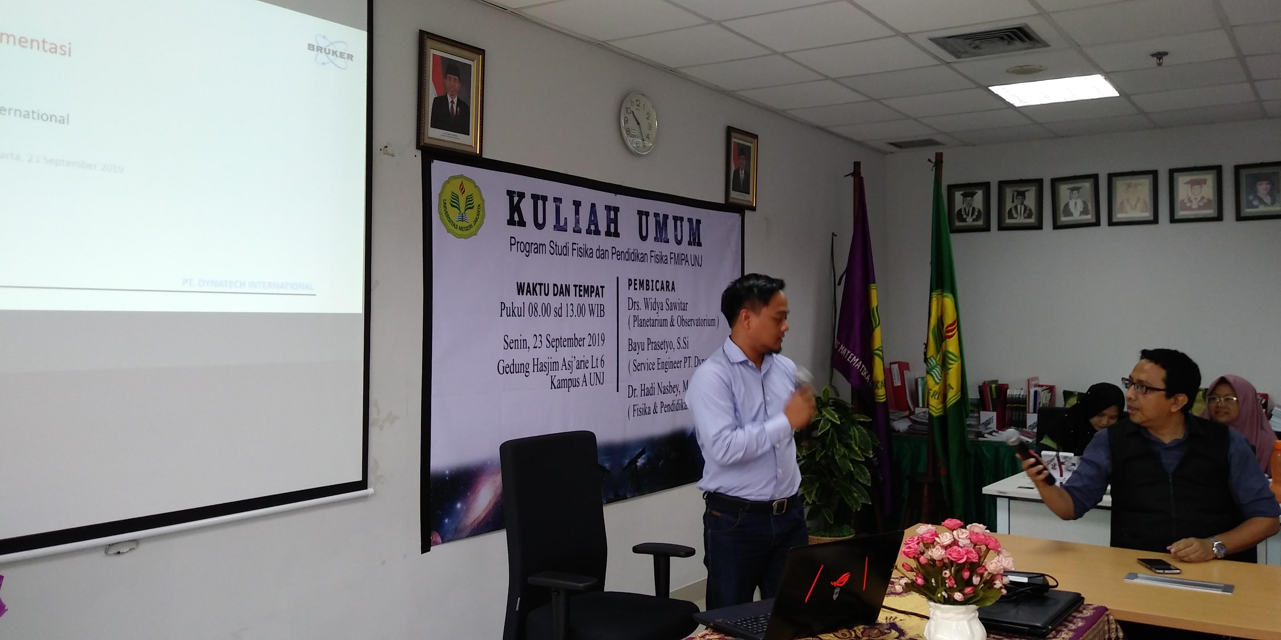 Kuliah Umum - 23 September 2019