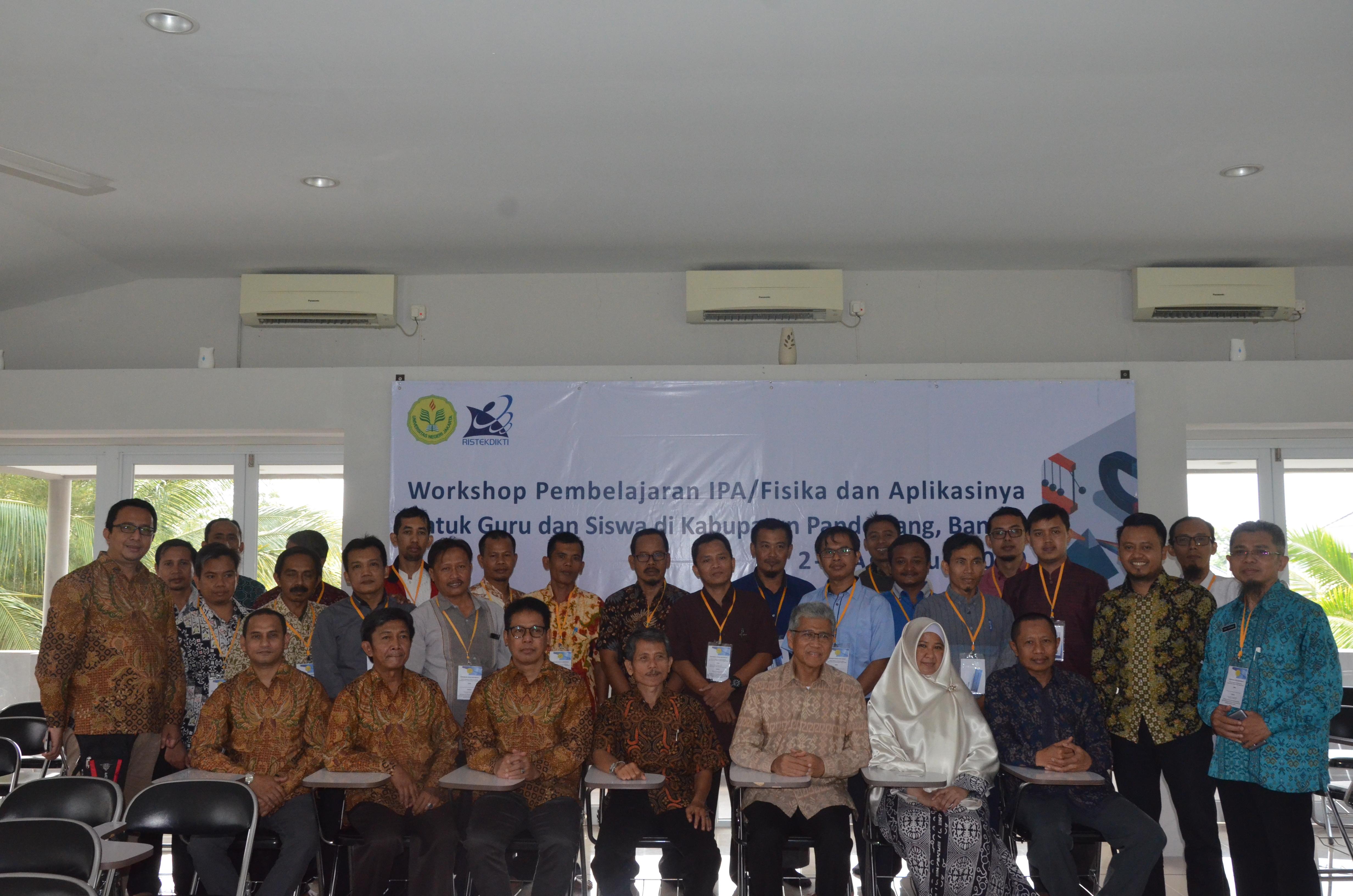 Workshop di Pandeglang
